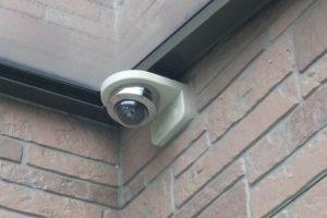 屋外用防犯カメラの簡単取付