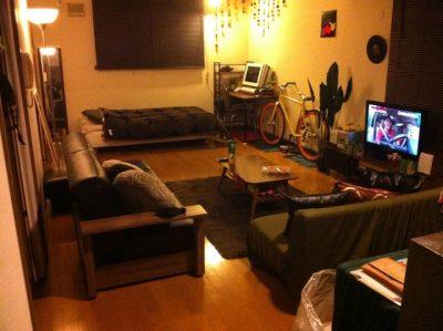 きれいに片付いた部屋