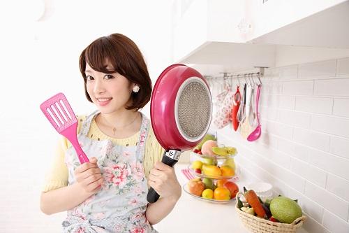 休日の過ごし方女性の場合は料理?