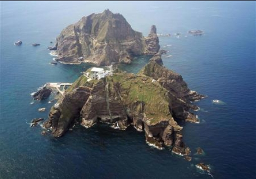 韓国が不法占拠している竹島