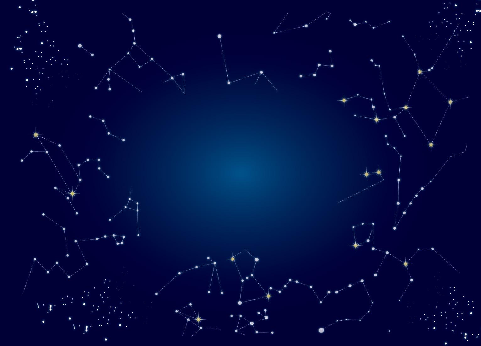 冬の星座鑑賞オリオン座冬の大三角